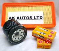 FOR HYUNDAI GETZ 1.1 2002-2005 SERVICE KIT AIR / OIL FILTER & SPARK PLUGS