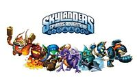 "14"" 15.4"" 15.6"" LAPTOP SKIN STICKER DECAL COVER LEATHER EFFECT SKYLANDERS"