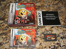 Creature From The Krusty Krab (Gameboy, 2006) Complete (Mint)