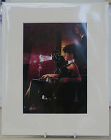 "An Imperfect Past by Jack Vettriano Mounted Art Print 10"" x 8"""