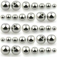 Spare Balls - Belly, Nipple, Tragus, Labret, Eyebrow, and Tongue Bars Piercings