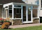 Conservatory - Made To Measure 4m x 3m Lean-to - White upvc **WINTER SALE**