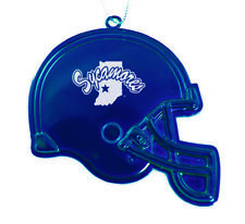 Indiana State University - Chirstmas Holiday Football Helmet Ornament - Blue