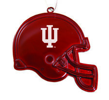 Indiana University - Chirstmas Holiday Football Helmet Ornament - Red
