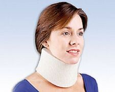 FLA Orthopedics Cervical Collar Soft Foam Mild Sprain Strain Pain 3 1/4