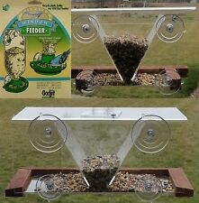 Window Bird Feeder Suction Cup Mount - 3 Styles - American Made in USA
