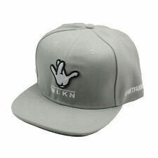 Women Men black gray finger Snapback Hip-Hop Hats adjustable Baseball Cap