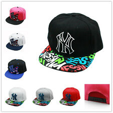 Unisex Fashion NY Snapback Hip-Hop Hats Rock Cap adjustable Baseball
