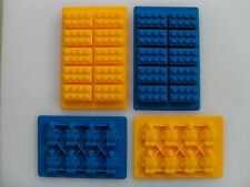 Building Brick Silicone Mould Mold Sugarcraft Sugarpaste Chocolate Topper