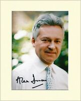 ALAN DUNCAN CONSERVATIVE MP HAND SIGNED AUTOGRAPH PHOTO 10X8 MOUNTED