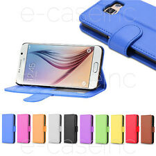 HOUSSE COQUE CUIR LEATHER WALLET SAMSUNG GALAXY S3 Mini, S3, S4 Mini, S4, S5