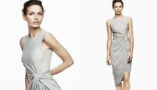 H&M Trend New Romance Exclusive Grey Jersey Dress 2 4 6 US 6 8 10 UK 32 34 36 EU