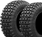 PAIR 2 TRAXION RACER XC FRONT TIRES 21x7-10 YAMAHA RAPTOR 250 350 660R 700R