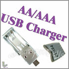 USB Charger Ni-MH AA / AAA Rechargeable Battery New