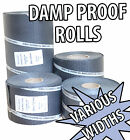 DAMP PROOF COURSE DPC MEMBRANE 30M ROLL DIY WALL DAMP PROOFING VARIOUS WIDTHS
