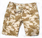 """BRITISH ARMY DESERT CAMO SHORTS - 55"""" WAIST - USED - TWO AVAILABLE - Z744"""