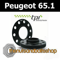 TPI WHEEL SPACERS 65.1 4x108 15MM FOR PEUGEOT 206