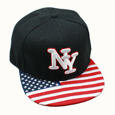 New Mens Boy NY Snapback Hip-Hop Hats adjustable Baseball Cap black Leopard