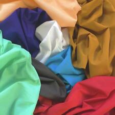"60"" inch Cotton Polyester Broadcloth Fabric Apparel Solid PolyCotton Per Yard"