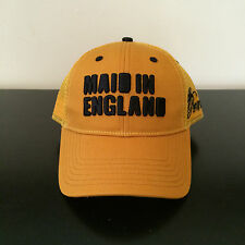 "Mens LTD.PRNC UK Ltd Edition ""Maid in England"" Logo Snapback Cap - Yellow -OSFA"