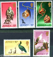 Jersey 1979 , Wildlife Preservation Trust , Stamp set MNH