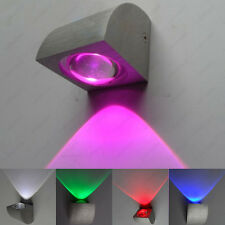 3W LED Wall Sconce Lamp Indoor Stairs Light Lobby Hotel Store Restaurant Disco