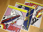 3 x ROY LICHTENSTEIN POSTER SET - TRIPTYCHON POP ART VINTAGE MINT free SHIPPING