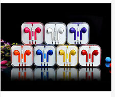 Candy Color Earbuds Earphone Headset Headphone Remote Mic For Apple iPhone iPod