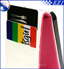 Pink iPhone 4 4G 4S 4GS Slim Wallet Credit Card Flip Leather Pouch Case Cover