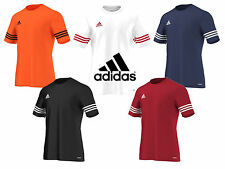 Mens Adidas Climalite Crew Training Gym Footbal T-Shirt Top Size S M L XL 2 XL