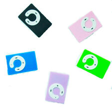Mini 5 Colors Support Up To 8GB Clip USB MP3 Player Micro SD TF Memory Card d9