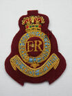 Royal Horse Artillery 7 RHA Maroon Officers Cap Badge - Airborne Brigade