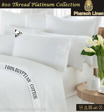 Duvet Pillow Bed Set 100%Egyptian Cotton 800 1000 Thread Count 5* Luxury Quality