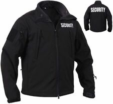 Tactical Soft Shell Security Jacket Law Enforcement Coat