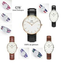 Watches DW Watch For Men women Leather strap Japan movement Military