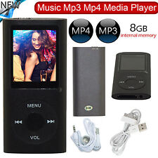 New 8GB MP4 MP3 MEDIA MUSIC VIDEO MOVIE PLAYER LCD FM-RADIO RECORDER GAMES UK