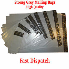 NEW Strong Grey Plastic Mailing Post Poly Postage Bags with Self Seal All Sizes