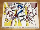 ROY LICHTENSTEIN POSTER - THE RED HORSEMAN 1975 LEO  CASTELLI NEW YORK ORIGINAL