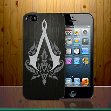 Assassin's Creed Logo Adventure Stealth Xbox PS3 Game Hard Phone Case Cover