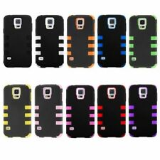 Hybrid Case Protector Silicone TPU for Samsung Galaxy S5 Cover Accessory Cap
