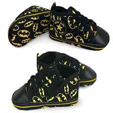 Baby Batman Shoes First Trainers Pumps Sneakers Soft Sole Crib Designer Style