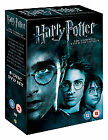 HARRY POTTER - THE COMPLETE FILM MOVIE COLLECTION 1-8 DVD BOX SET BRAND NEW