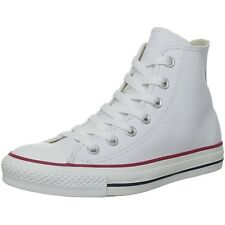 Converse Unisex Men's Sizes Chuck Taylor All Star Hi Top White Leather 132169C