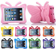 3D Cute Butterfly Shockproof EVA Foam Stand Cover Case for iPad 2 3 4 Mini Air