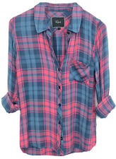 Original Package!!-RAILS HUNTER BUTTON DOWN SHIRT BERRY Sz XS-L