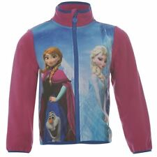 Frozen Eiskönigin Disney Anna & Elsa Strickjacke Fleece  Gr. 104 -152 NEU Lizenz