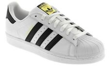Adidas Original C77124 Superstar White/Black Sneakers Men's Size New