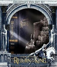 The Lord of the Rings: Return of the King DVD 2004 5-Disc Set w/Minas Tirith Box