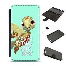 Leather Squirt Totally Rock Dude Disney Finding Nemo Phone Cover Case