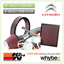 CITROEN Xsara Picasso All K&N KN Performance Filters inc Air, Oil & Intake Kits